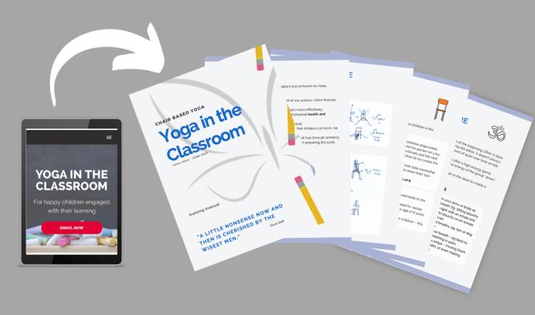 yoga in the classroom, yoga in my school, yoga for classrooms