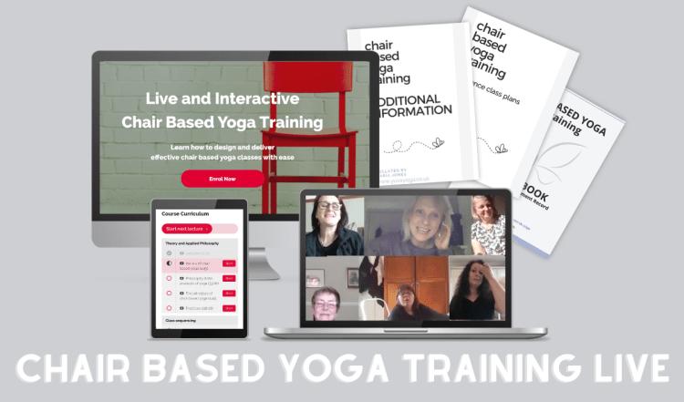 live chair yoga training