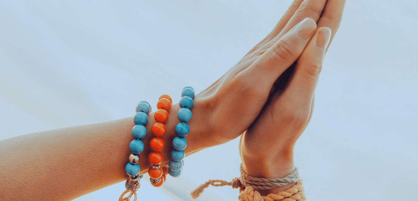 hands together in namasrte
