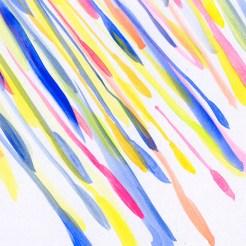 「雨粒」をモチーフとした挿絵