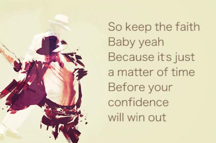 #167 [魚導日常] 這首我很愛聽的歌 Keep The Faith – Michael Jackson