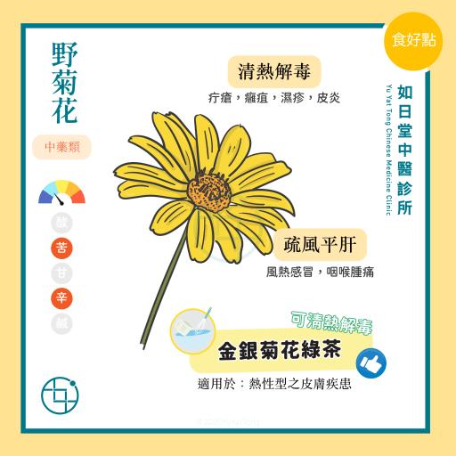 野菊花 - 疔瘡 -食療