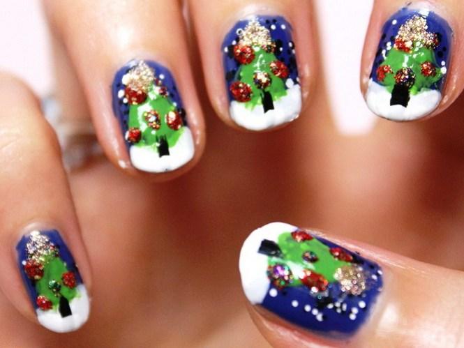 15 57 Christmas Nail Designs Acrylic Art Santa Tutorial By Naio Nails