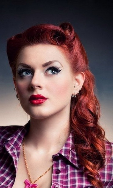 15 Pin Up Hairstyles Easy To Make