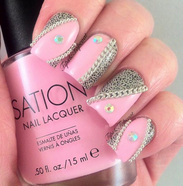 Glitter Nail Art Designs For Shiny Hands