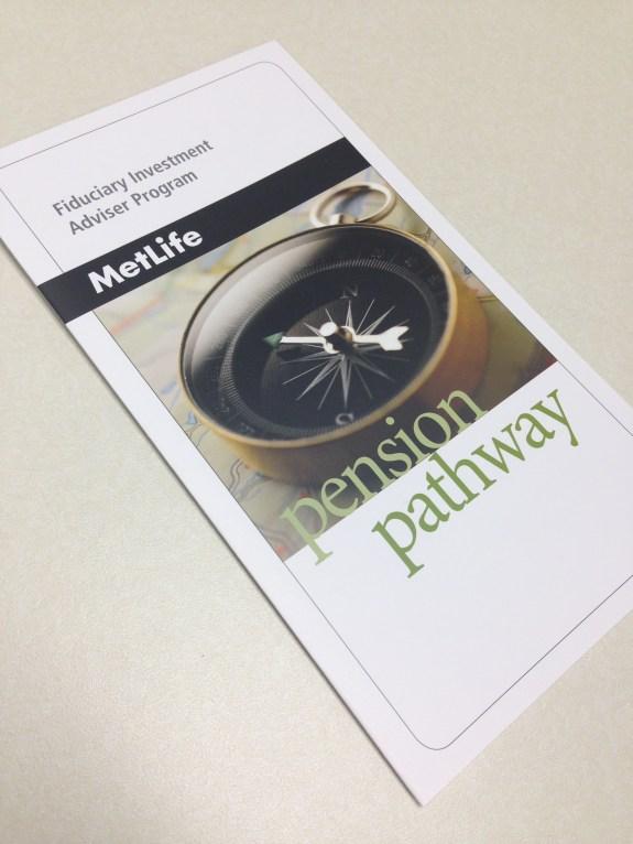 Pension Pathway brochure