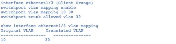 Figure 7: interface-vlan-mapping-per-port-vlan-translation-for-native-c-vlan