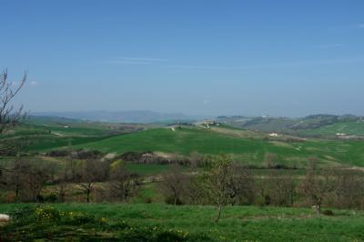 Was für ein tolles Panorama von unserem Bauernhof aus
