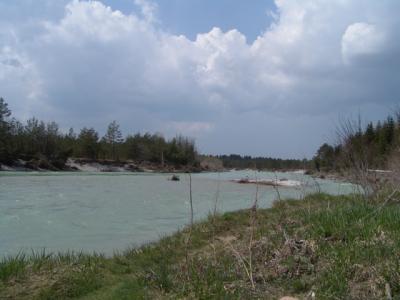 Das ist unser Fluss, die Isar