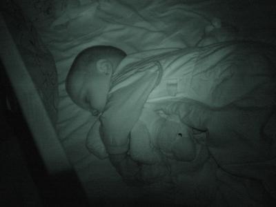 Ein Krümel im Bettchen