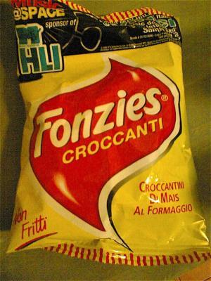 Hier gibt es Chips, die Fonzies heissen