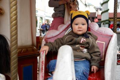 Am Weihnachtsmarkt in Bad Tölz