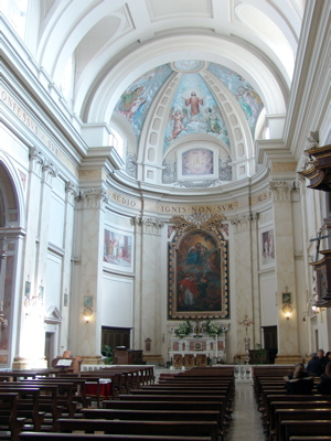 Die Kirche in San Lorenzo