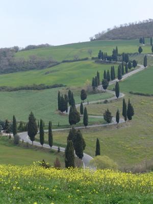 Die bekannteste Strasse der Toskana