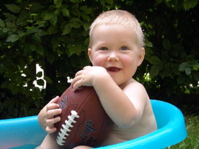 Mein Football-Ei