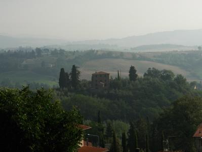 Morgen in der Toskana
