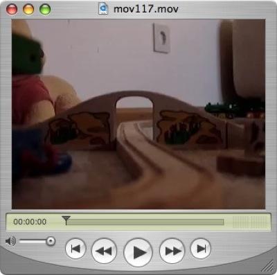 Meine kleine Holzeisenbahn