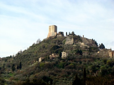 Rocca d'Orcia im Orciatal