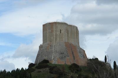 Die Rocca a Tentennano