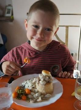 Fonzie è stato invitato a cena dai suoi amici svizzeri