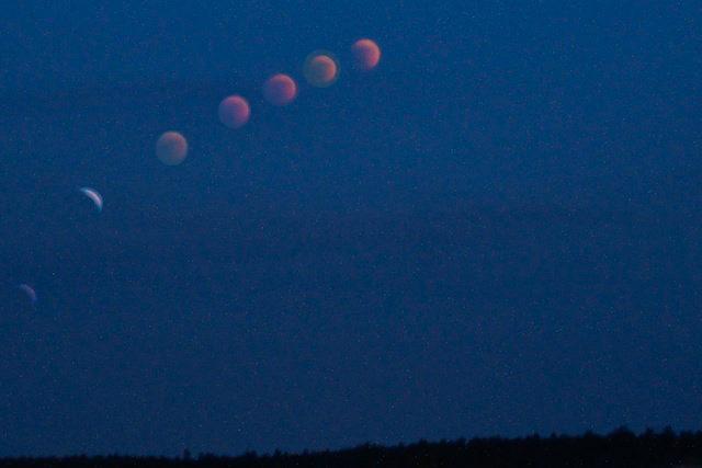 L'eclissi di luna 2011
