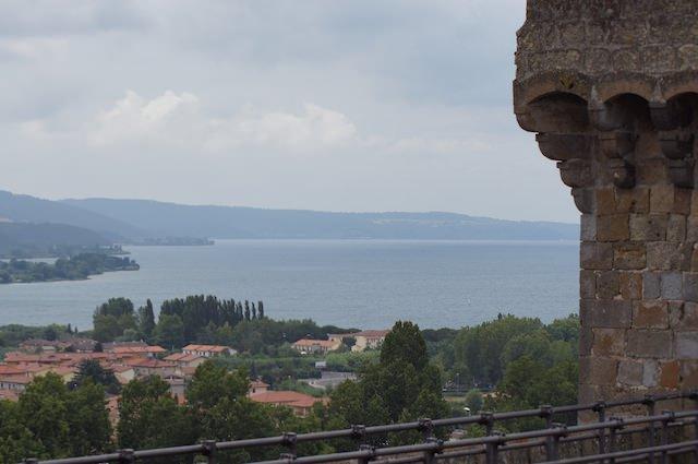 Che bel panorama del Lago Bolsena
