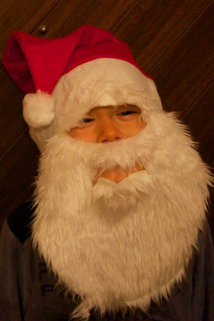 Fonzie travestito da Babbo Natale
