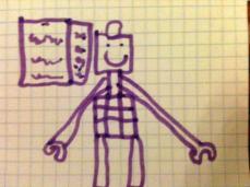 Ecco l'uomo di LEGO di Yves