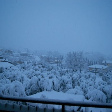 Che sorpresa! Ha nevicato, ma tanto!!