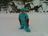 Fonzie piace la neve