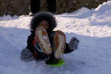 Mi diverto nella neve!