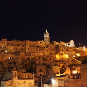 Una bellissima serata a Matera