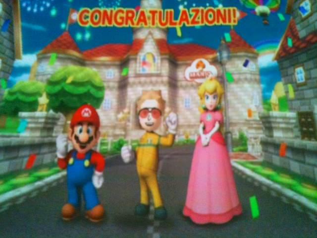 Fonzie ha vinto la coppa Mario Kart Wii