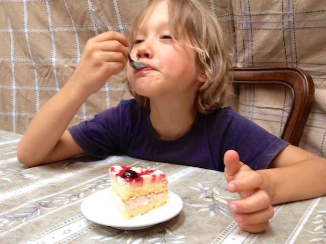 Fonzie piace la sua torta