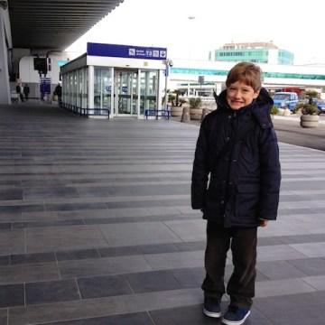 Yves è pronto per la partenza in direzione Sicilia