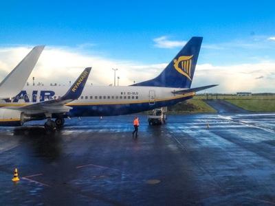 Che pensate voi del logo della Ryanair