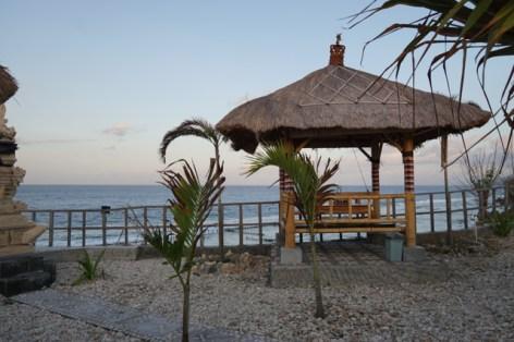 Un ottimo posto per mangiare e godersi il tramonto