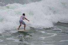 Le onde non sono grandi ma forti