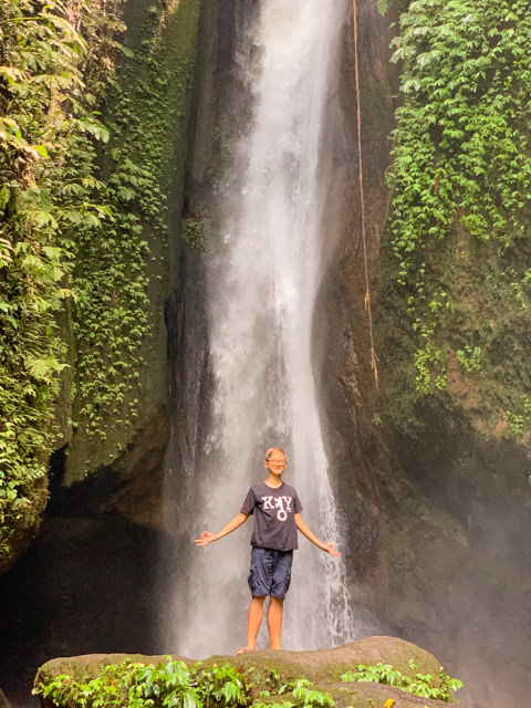 Wow! That's a high waterfall