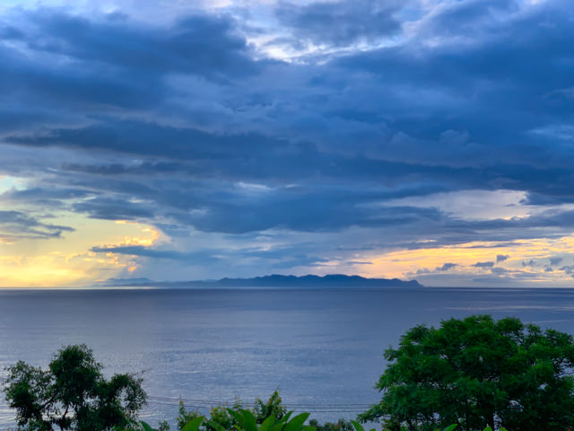 Something's brewing over Lombok...