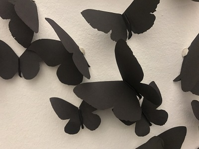 Art: Black Butterflies