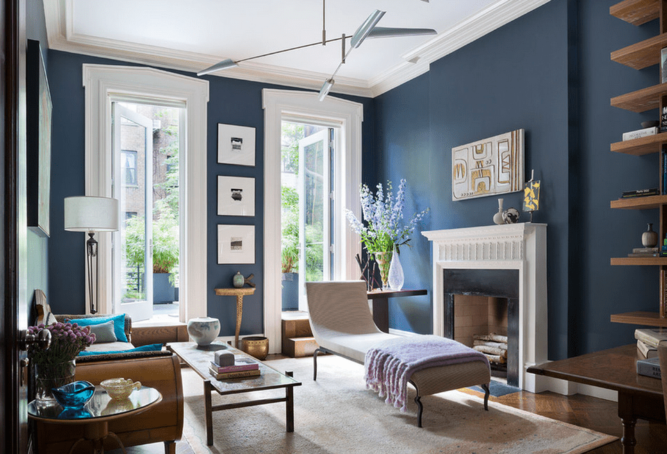 Modern Monday: Moody Blue Mix