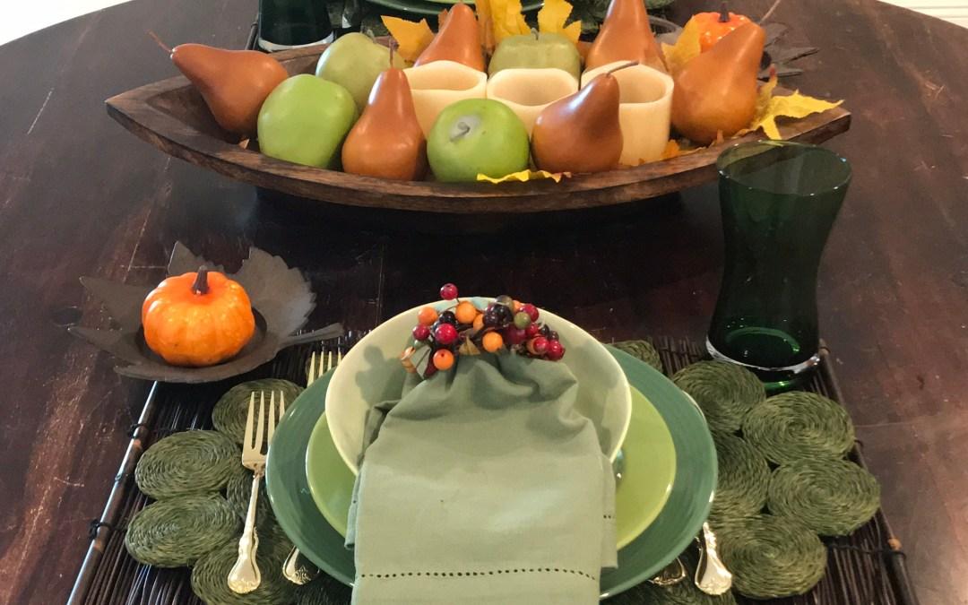 Tabletop Tuesday: Festive Fall