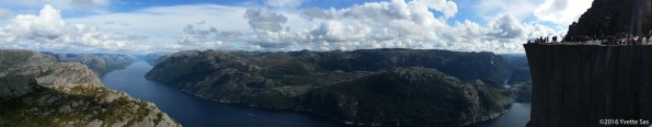 Number one highlight of this year, reaching the top of Preikestolen. Amazing!
