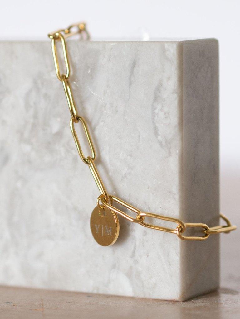 Finaste Bracelet Necklace Engraved YVONNE15