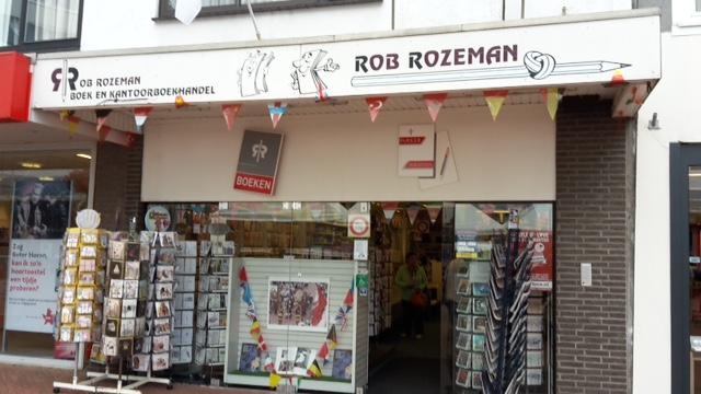 boekwinkel Rob Rozeman Buiten
