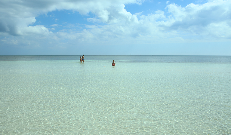 Bahia Honda State Resort, på øya Big Pine Key.