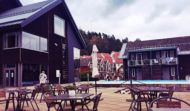 Området Holmsbu Hotel & Spa.