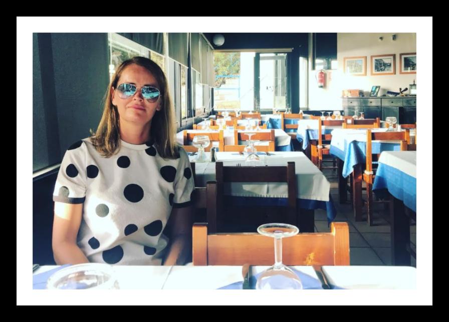Yvonne ved La Pirata