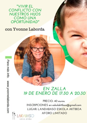 ZALLA (BILBAO - BIZKAIA) - CRIANZA CONSCIENTE @ Landabaso Eskola Aktiboa | La Herrera | Euskadi | España